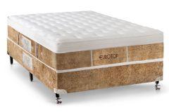 Colchão Castor Eurotop New Boucle 78x188x32cm Molas Pocket Solteiro