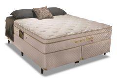 Colchão Herval de Molas Pocket Vincennes HR Bamboo Euro Pillow - Colchão Casal - 1,38x1,88x0,30 - Sem Cama Box