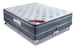 Colchão Orthocrin de Molas Pocket Premium Latex Visco Euro Pillow Pró Saúde - Colchão Solteiro - 0,88x1,88x0,36 Sem Cama Box