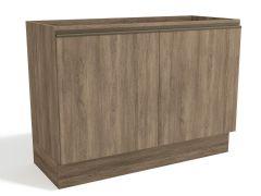 Balcão (Gabinete) de Cozinha Kappesberg Maxxi G745 Madeira 2 Portas S/tampo 120cm (Usar Tampo S415 ou E609) - Móveis Kappesberg