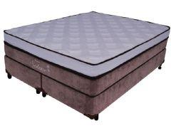 Colchão Probel de Molas Multilastic Solene Luxo Euro Pillow Pocket Viscoelástico