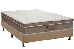 Colchão Ortobom de Molas Pocket Airtech Spring Euro Pillow - Colchão Solteiro - 0,88x1,88x0,30 - Sem Cama Box