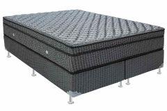 Colchão Ortobom de Molas Multilastic Orthotel Luxo Pillow Euro - Colchão Solteiro - 0,88x1,88x0,27 - Sem Cama Box