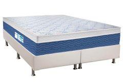 Colchão Probel de Molas Prolastic ProDormir Blue Euro Pillow - Colchão Solteiro - 0,88x1,88x0,34 Sem Cama Box