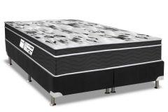 Colchão Probel de Molas Prolastic ProDormir Born Black 26cm Pillow Euro - Colchão Solteiro - 0,88x1,88x0,26 - Sem Cama Box