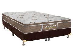 Colchão Probel de Espuma D33 ProDormir Advanced Extra Firme Plus Euro Pillow - Colchão Solteiro - 0,88x1,88x0,24 - Sem Cama Box