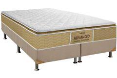 Colchão Probel de Espuma ProDormir Advanced Premium Extra Firme Pillow Top - Colchão Casal - 1,38x1,88x0,26 - Sem Cama Box