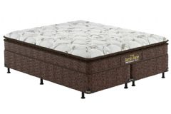 Colchão Probel de Espuma Guarda Costas Extra Firme Plus D28 Pillow Top - Colchão Solteiro - 0,88x1,88x0,24 - Sem Cama Box
