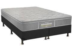 Colchão Probel de Espuma D28 ProDormir Advanced Extra Firme Plus Euro Pillow - Colchão Solteiro - 0,88x1,88x0,24 - Sem Cama Box