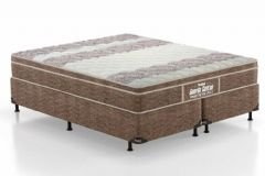 Colchão Probel de Espuma D33 Firmepedic Guarda Costas Próintense Plus Euro Pillow Brown - Colchão Probel