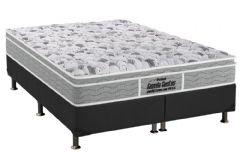 Colchão Probel de Espuma D45 Firmepedic Guarda Costas Próextreme Plus Euro Pillow Gray 024 - Colchão Solteiro - 0,88x1,88x0,24 - Sem Cama Box