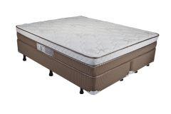 Colchão Luckspuma de Mola Pocket Madri Pillow In One Side - Colchão Solteiro - 0,88x1,88x0,26 - Sem Cama Box