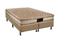 Colchão Luckspuma de Molas Bonel Luck Hotel Pillow Top - Colchão Solteiro - 0,88x1,88x0,24 - Sem Cama Box