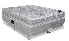 Colchão Castor de Molas Pocket Super luxo Látex Plush SLX Euro Pillow Double Face - Colchão Solteiro - 0,88x1,88x0,36 Sem Cama Box