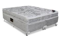 Colchão Castor de Molas Pocket Super luxo Látex SLX Euro Pillow One Face - Colchão Castor