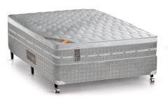 Colchão Castor de Molas Pocket Premium Gel Euro Pillow - Colchão Solteiro - 0,88x1,88x0,32 - Sem Cama Box