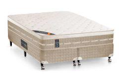 Colchão Castor de Molas Bonnel Premium Tecnopedic Euro Pillow - Colchão Solteiro - 0,88x1,88x0,30 - Sem Cama Box