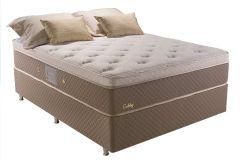 Colchão Herval de Molas Pocket Gobby Pillow Top One Side - Colchão Solteiro - 0,88x1,88x0,34 Sem Cama Box