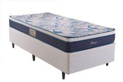 Colchão Herval de Molas Bonnel Passy Pillow Top One Side - Colchão Solteiro - 0,88x1,88x0,20 - Sem Cama Box