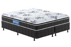 Colchão Probel de Espuma D40/20 Guarda Costas Premium Hiper Firme Pillow Top Black - Colchão Probel