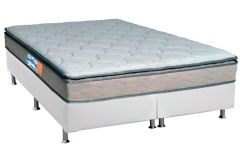 Colchão Probel de Espuma Guarda Costas Premium Hiper Firme Pillow Top - Colchão Solteiro - 0,88x1,88x0,24 - Sem Cama Box