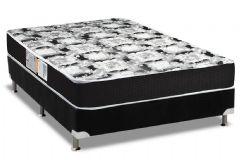 Colchão Luckspuma de Espuma D33 Supreme Black Pillow Top Selado INMETRO - Colchão Luckspuma
