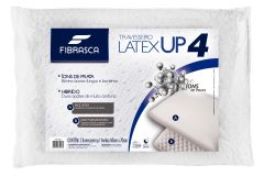 Travesseiro Fibrasca Látex UP4 Dupla Face c/ Massageador -