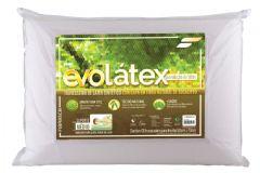 Travesseiro Fibrasca Evolátex Médio c/ Fibra de Eucalípto - Travesseiro Fibrasca