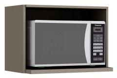 Nicho de Cozinha Henn Connect Porta Microondas 60 cm - Cor Duna