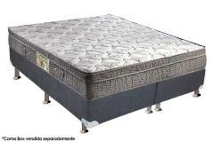 Colchão Orthoflex de Molas Bonnel Orvieto Spring Bamboo Black Euro Pillow - Colchão Casal - 1,38x1,88x0,26 - Sem Cama Box