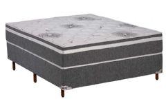 Colchão Polar de Espuma D33 Pérola Premium Fort Gray Euro Pillow Selado INMETRO - Colchão Solteiro - 0,88x1,88x0,26 - Sem Cama Box