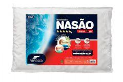 Travesseiro Fibrasca Nasão Dupla Face Viscoelástico c/Massageador p/ Fronha 50x70 - Travesseiro Fibrasca