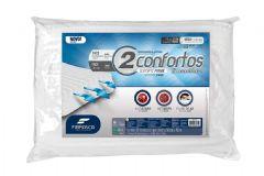 Travesseiro Fibrasca 2Confortos Espuma c/ Dissipador de Calor p/Fronha 50x70 - Travesseiro Fibrasca