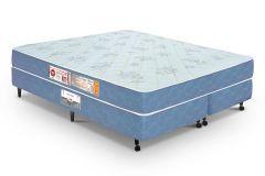 Colchão Castor de Espuma D45 Sleep Max Duplo 18cm Selado INMETRO e INER - Colchão Solteiro - 0,88x1,88x0,18 - Sem Cama Box