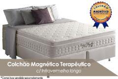 Colchão Anjos Confort Nude Magnético Terapêutico c/ Infravermelho Longo - Colchão Casal - 1,38x1,88x0,32 - Sem Cama Box