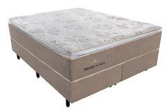 Colchão Sealy de Molas Pocket Presidencially Viscoelástico Euro Pillow - Colchão King Size - 1,93x2,03x0,34 - Sem Cama Box