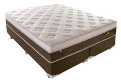 Colchão Plumatex de Molas Pocket Personalle Euro Pillow - Colchão Casal - 1,38x1,88x0,30 - Sem Cama Box