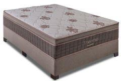Colchão Kappesberg de Molas Pocket Thermo Euro Pillow c/ Aquecedor (110V) - Colchão Casal - 1,38x1,88x0,33 - Sem Cama Box