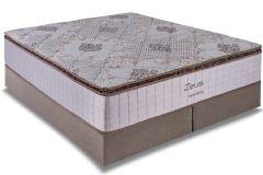 Colchão Kappesberg de Molas Pocket Zeus Pillow Top - Colchão Casal - 1,38x1,88x0,34 - Sem Cama Box