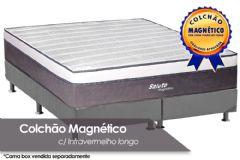 Colchão Magnético Infravermelho Longo Terapeutico Salute Espuma Ortopédica EuroPilow Branco/Cinza - Costa Rica