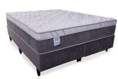 Colchão Sealy de Molas Posturepedic Platinum Correct Confort Euro Pillow - Colchão Casal - 1,38x1,88x0,32 - Sem Cama Box