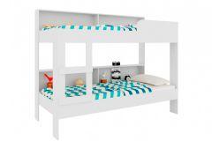 Beliche Art In Móveis Miami c/ Estante BE2080 - Art In Móveis