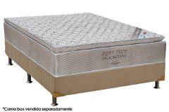 Colchão Ortobom Molas Nanolastic Fort Tech Pillow Top - Colchão Ortobom