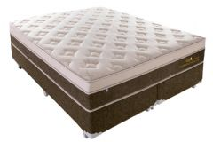 Colchão Sealy/Plumatex de Molas Pocket Personalle Euro Pillow - Colchão Casal - 1,38x1,88x0,30 - Sem Cama Box