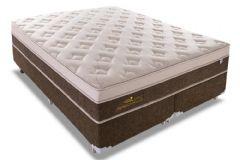 Colchão Sealy de Molas Pocket Personalle Euro Pillow - Colchão Casal - 1,38x1,88x0,30 - Sem Cama Box