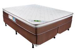 Colchão Luckspuma de Molas Pocket Caribe Pillow In - Colchão Solteiro - 0,88x1,88x0,24 - Sem Cama Box