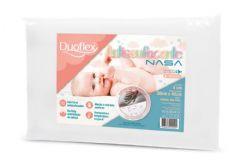 Travesseiro Duoflex Infantil Antissufocante Viscoelástico Nasa BB3002 200 Fios Impermeável - Travesseiro Duoflex