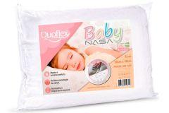Travesseiro Duoflex Baby Viscoelástico Nasa BB1002 200 Fios Impermeável - Travesseiro Duoflex