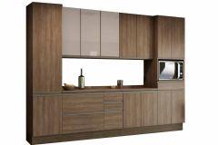 Cozinha Completa Kappesberg Maxxi CB366 8 Peças (2 Paneleiros+2 Balcões c/ Tampo+2 Aéreos) - Móveis Kappesberg
