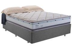 Colchão Herval de Molas Pocket Viena Pillow Top - Colchão Solteiro - 0,88x1,88x0,27 - Sem Cama Box